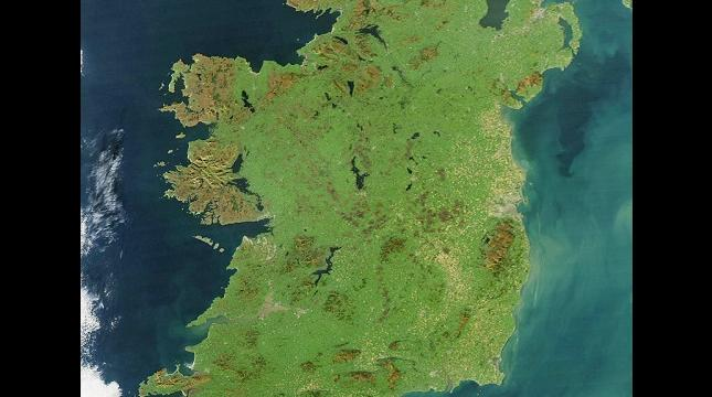 Map or Ireland